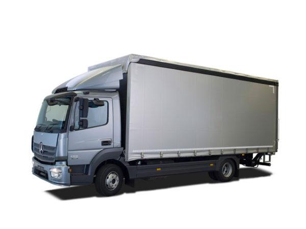 Mercedes — объем 25-36 м3